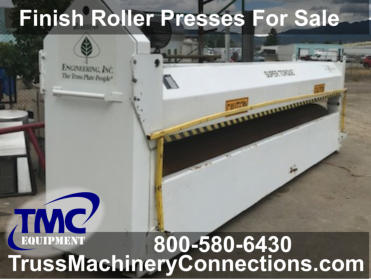 Finish Roller Presses For Sale